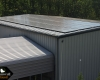 80 solar panels help to power our training center so our puppies are always at the right temperature
