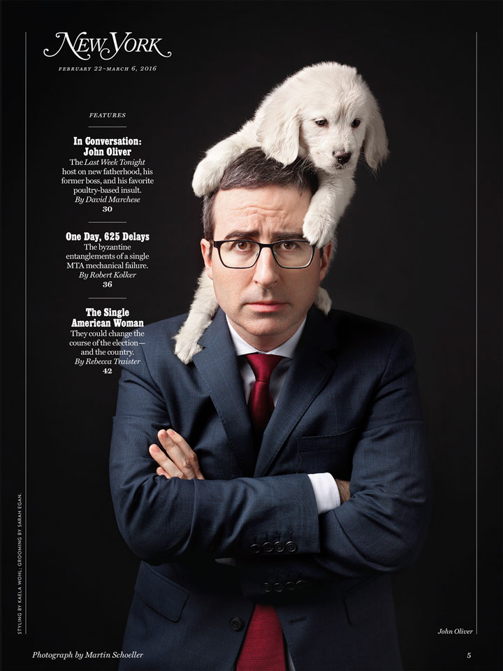 john-oliver-with-pup